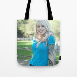 Girl Next Door Tote Bag