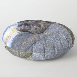 Karl Marx Memorial Floor Pillow