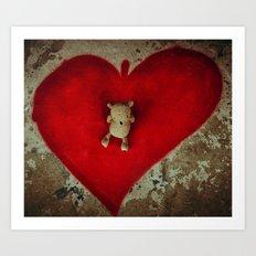 Sharing the Love Art Print