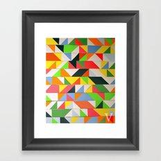 zxv Framed Art Print
