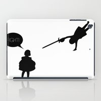 fight iPad Cases featuring Fight! by Matata