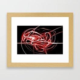 Voltage Whip Framed Art Print