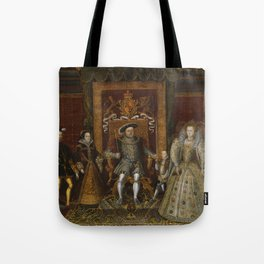 The family of Henry VIII Tote Bag