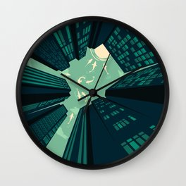 Solitary Dream Wall Clock