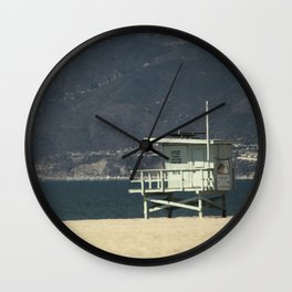 Baywatch Hut Wall Clock