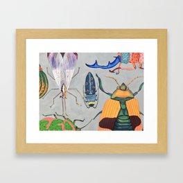 Bugs and Me Framed Art Print
