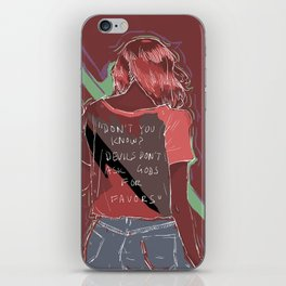 Don't You Know? iPhone Skin