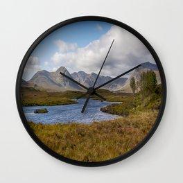 Lochan na h-Achlaise Wall Clock