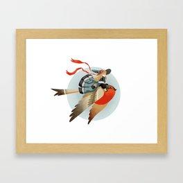 Big Bird Framed Art Print