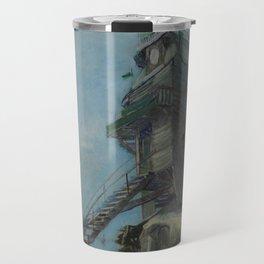Vincent Van Gogh - Le Moulin de la Galette Travel Mug