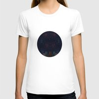 night sky T-shirts featuring Night Sky by Suchita Isaac