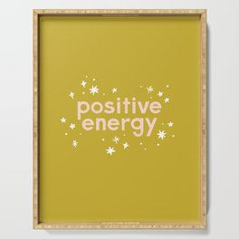 Positive Energy Serving Tray