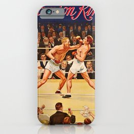 1920 Samson Kina Boxing Advertising Poster iPhone Case