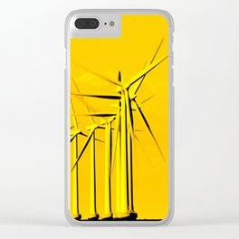Wind power Clear iPhone Case