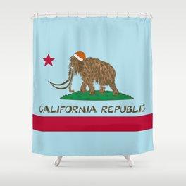 California Republic Mammoth Shower Curtain