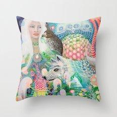 Spirit Fruit Throw Pillow