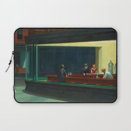 NIGHTHAWKS - EDWARD HOPPER Laptop Sleeve
