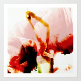 Nude Poppy Art Print