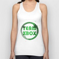 xbox Tank Tops featuring Team XBox by Bradley Bailey