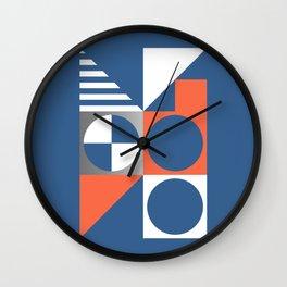 Nautical Geometric 01 Wall Clock