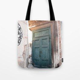 Door Tote Bag