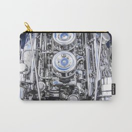 Hot Rod Blue, Automotive Art with Lots of Chrome by Murray Bolesta Carry-All Pouch
