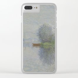 Autumn on the Seine, Argenteuil Clear iPhone Case