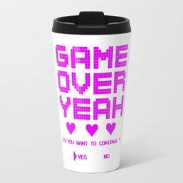 GAME OVER YEAH Travel Mug
