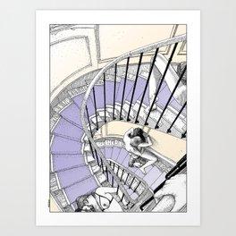 asc 692 - Book cover La Musardine Art Print