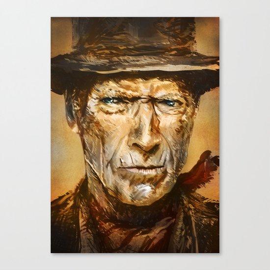 Gunslinger Canvas Print