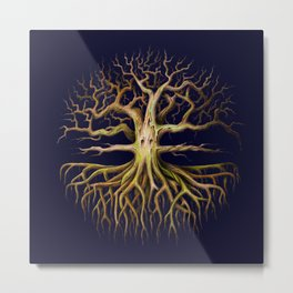 Eldritch Tree Metal Print