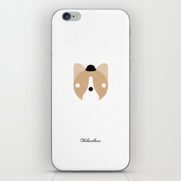 Pedigree: Chihuahua iPhone Skin