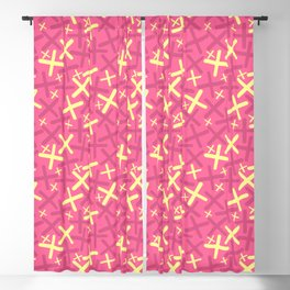 Flamingo - X-Plosion Decorative Pattern Blackout Curtain