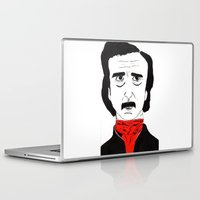 poe Laptop & iPad Skins featuring Poe by Natália Damião