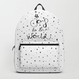 Joy to the world Backpack