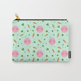 Chubby Bunny-mint Carry-All Pouch