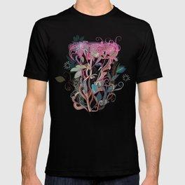 Floral clover T-shirt
