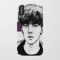 exo iPhone & iPod Cases featuring Sehun EXO Exodus by fabisart