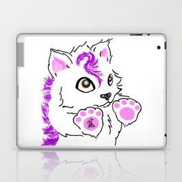 Snowfox - pink Laptop & iPad Skin