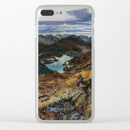 View from Torc Mountain, Killarney National Park, Ireland Clear iPhone Case