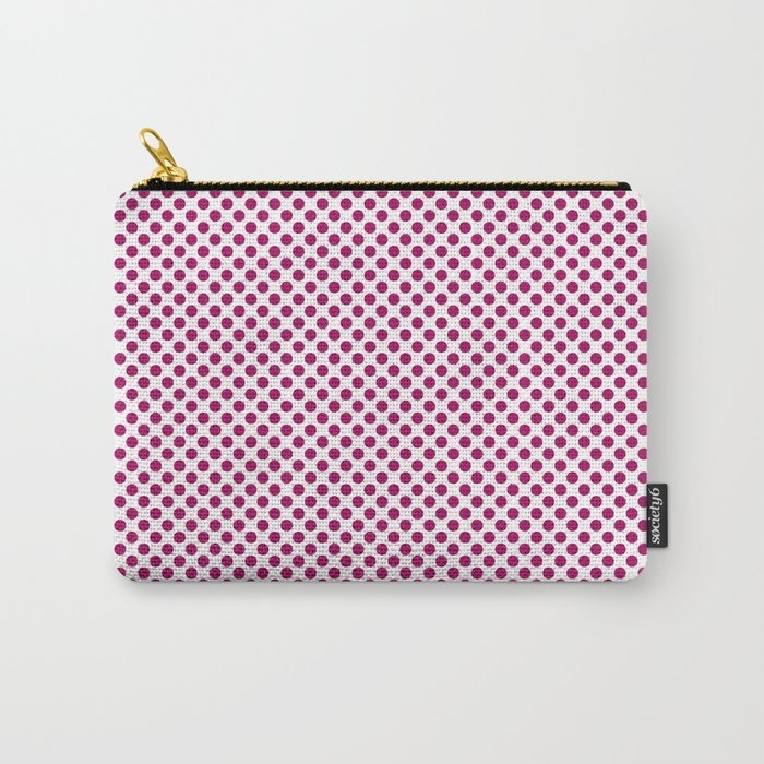 Jazzberry Jam Polka Dots Carry-All Pouch