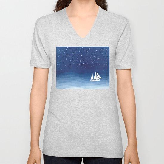 big dipper, sailboat by vapinx