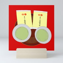 Tea Ceremony in Koyasan, Japan Mini Art Print