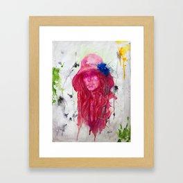 Seeds of Flowers and Mörk Materia Framed Art Print