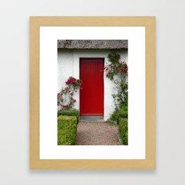 Charming - An Irish Cottage Framed Art Print