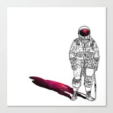 The astonaut Canvas Print