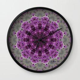 Lilac 1 Wall Clock