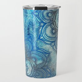 Lost in Blue - a daydream made visible Travel Mug