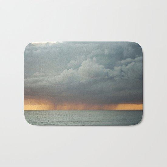 Sunset Storm  Bath Mat