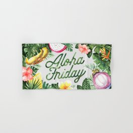 Aloha Friday! Hand & Bath Towel
